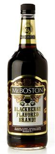 Mr. Boston Blackberry Brandy 1.00l
